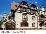 Купить «Marzolff house at Lycée des Pontonniers international high school Strasbourg Alsace France.», фото № 14259084, снято 21 апреля 2019 г. (c) age Fotostock / Фотобанк Лори