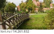 Купить «Teutonic castle in Sztum, Poland», видеоролик № 14261832, снято 15 октября 2015 г. (c) BestPhotoStudio / Фотобанк Лори