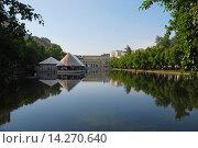 Купить «Чистые пруды. Москва», эксклюзивное фото № 14270640, снято 11 июня 2009 г. (c) lana1501 / Фотобанк Лори
