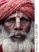 Купить «A local sadhu, Durbar Square, Kathmandu, Nepal, Asia», фото № 14297900, снято 17 августа 2018 г. (c) age Fotostock / Фотобанк Лори