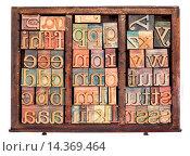 Купить «letterpress wood type», фото № 14369464, снято 21 августа 2018 г. (c) age Fotostock / Фотобанк Лори