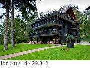 Купить «Hotel L'Arnsbourg - Hotel K at Baerenthal, Moselle, France», фото № 14429312, снято 21 ноября 2019 г. (c) age Fotostock / Фотобанк Лори