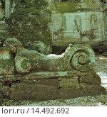 Купить «Garden of Bomarzo (Giardini di Sacro Bosco di Bomarzo), by Ligorio Pirro, 1552, 16th Century. Italy, Lazio, Bomarzo (Viterbo), Palazzo Orsini. Whole artwork...», фото № 14492692, снято 22 марта 2019 г. (c) age Fotostock / Фотобанк Лори