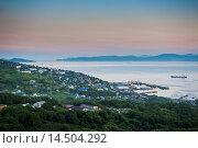 Купить «The Avacha Bay near Petropavlovsk-Kamchatsky at sunset, Kamchatka, Russia, Eurasia», фото № 14504292, снято 23 января 2020 г. (c) age Fotostock / Фотобанк Лори