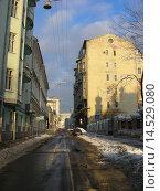 Купить «Малый Знаменский переулок.Москва», эксклюзивное фото № 14529080, снято 1 января 2010 г. (c) lana1501 / Фотобанк Лори