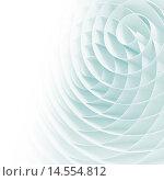 Абстрактный фон из светлых объёмных спиралей. Стоковая иллюстрация, иллюстратор EugeneSergeev / Фотобанк Лори