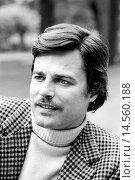 Купить «Intense close-up shot of Jean Sorel. An intense close-up of French actor Jean Sorel with mustache. 1971.», фото № 14560188, снято 21 января 2019 г. (c) age Fotostock / Фотобанк Лори