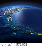 Купить «Карибские острова. Куба, Гаити, Ямайка», иллюстрация № 14576872 (c) Антон Балаж / Фотобанк Лори