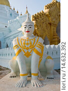 Купить «Myanmar, Amarapura, local pagoda.», фото № 14632392, снято 21 марта 2018 г. (c) age Fotostock / Фотобанк Лори