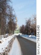 Купить «Владимир. Никитская улица», фото № 14694040, снято 9 марта 2012 г. (c) Бурмистрова Ирина / Фотобанк Лори