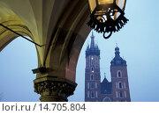 Купить «Krakow, Marys church, Poland, Southern Poland, Krakow», фото № 14705804, снято 19 ноября 2017 г. (c) age Fotostock / Фотобанк Лори
