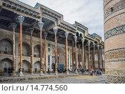 Купить «Uzbekistan ,Bukhara City, Bolo Khaouz Mosque.», фото № 14774560, снято 23 февраля 2019 г. (c) age Fotostock / Фотобанк Лори