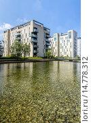 Купить «Modern apartment buildings at Sydhavnen, Amager, Copenhagen, Denmark», фото № 14778312, снято 22 июля 2019 г. (c) age Fotostock / Фотобанк Лори