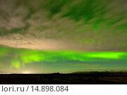 Купить «NORTHERN LIGHTS - ICELAND», фото № 14898084, снято 10 декабря 2013 г. (c) age Fotostock / Фотобанк Лори