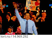 Купить «Al Gore at Presidential Rally», фото № 14969292, снято 14 марта 2006 г. (c) age Fotostock / Фотобанк Лори