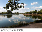 Озеро в парке Nong Prajak, Таиланд. Стоковое фото, фотограф Nikolay Grachev / Фотобанк Лори