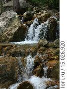 Водопад. Стоковое фото, фотограф Надежда Шапкина / Фотобанк Лори