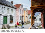 Купить «Oyragata area (the old town), Laerdal, Sogn og Fjordane, Norway.», фото № 15063672, снято 25 февраля 2020 г. (c) age Fotostock / Фотобанк Лори