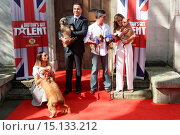 Купить «Britain's Got Talent - press launch held at St Luke's Church - Arrivals Featuring: Simon Cowell,David Walliams,Amanda Holden,Alesha Dixon Where: London...», фото № 15133212, снято 9 апреля 2014 г. (c) age Fotostock / Фотобанк Лори