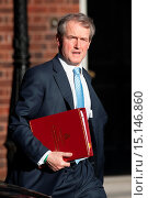 Купить «Politicians attend a Cabinet meeting at Downing Street Featuring: Owen Paterson Where: London, United Kingdom When: 08 Apr 2014 Credit: Daniel Deme/WENN.com», фото № 15146860, снято 8 апреля 2014 г. (c) age Fotostock / Фотобанк Лори