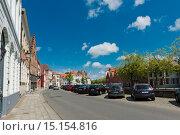 Купить «Улица в городе Брюгге, Бельгия», фото № 15154816, снято 28 мая 2015 г. (c) Валерия Потапова / Фотобанк Лори