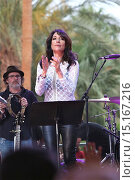 Купить «Katey Sagal plays at Stagecoach with the forest Rangers and her son Jackson James White Featuring: Katey Sagal Where: Los Angeles, California, United States When: 26 Apr 2014 Credit: WENN.com», фото № 15167216, снято 26 апреля 2014 г. (c) age Fotostock / Фотобанк Лори