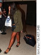 Купить «Jameela Jamil arrives at Los Angeles International (LAX) airport Featuring: Jameela Jamil Where: Los Angeles, California, United States When: 01 Sep 2014 Credit: WENN.com», фото № 15437348, снято 1 сентября 2014 г. (c) age Fotostock / Фотобанк Лори