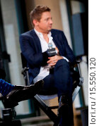 Купить «AOL's BUILD Speaker Series with actor Jeremy Renner and Director Michael Cuesta at 770 Broadway in New York City Featuring: Jeremy Renner Where: New York...», фото № 15550120, снято 10 октября 2014 г. (c) age Fotostock / Фотобанк Лори
