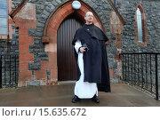 Купить «catholic priest in Northern Ireland.», фото № 15635672, снято 17 августа 2014 г. (c) age Fotostock / Фотобанк Лори