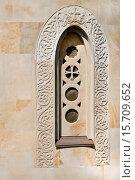 В древнем стиле окно храма. Стоковое фото, фотограф Левончук Юрий / Фотобанк Лори