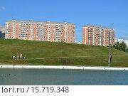 Купить «Дюссельдорфский парк. Москва», эксклюзивное фото № 15719348, снято 29 июля 2015 г. (c) lana1501 / Фотобанк Лори