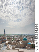 Купить «Облака над древним городом - Хива», фото № 15894996, снято 18 сентября 2007 г. (c) Elizaveta Kharicheva / Фотобанк Лори