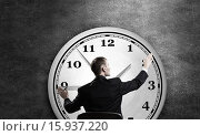 Купить «Time management as concept», фото № 15937220, снято 10 января 2019 г. (c) Sergey Nivens / Фотобанк Лори