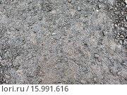 Купить «close up of wet gray gravel road or ground», фото № 15991616, снято 16 октября 2015 г. (c) Syda Productions / Фотобанк Лори