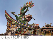 Купить «Quan Am Pagoda, Cholon, Ho Chi Minh City (Saigon), Vietnam.», фото № 16017880, снято 6 августа 2014 г. (c) age Fotostock / Фотобанк Лори