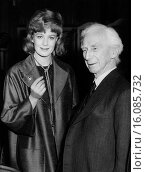 Купить «London, England: November 23, 1961.Guest of honor British philosopher Bertrand Russell chats with actress Vanessa Redgrave at Foyle´s Literary Luncheon.», фото № 16085732, снято 17 февраля 2020 г. (c) age Fotostock / Фотобанк Лори