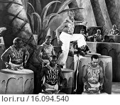 United States: c. 1926.A musical theater production featuring African Americans. Редакционное фото, фотограф Underwood Archives / age Fotostock / Фотобанк Лори