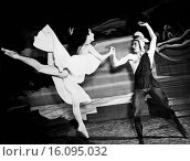 Купить «Chicago, Illinois: November 29, 1944. A scene from a ballet with Tamara Toumanova and Richard Reed of the Russian Ballet while appearing in Chicago.», фото № 16095032, снято 17 февраля 2020 г. (c) age Fotostock / Фотобанк Лори