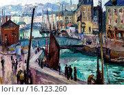 Купить «Othon Friesz, Le Bassin du Roy au Havre - The Bassin du Roy in Le Havre, 1906 , Musee des Beaux-Arts Andre Malraux, Le Havre, Seine-Maritime department, Upper Normandy, France.», фото № 16123260, снято 19 июня 2013 г. (c) age Fotostock / Фотобанк Лори