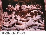 Купить «Vishnu on Ananta. South side of Deogarh Vishnu Temple. Dated: 500 A.D. India.», фото № 16144796, снято 24 апреля 2018 г. (c) age Fotostock / Фотобанк Лори