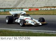 Italian GP, Monza, 5th September 1971. Peter Gethin, BRM P160, race winner. Стоковое фото, фотограф GP Library \ UIG / age Fotostock / Фотобанк Лори