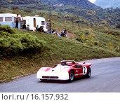 Andrea de Adamich's Alfa Romeo T33 in the Targa Florio, Sicily, 16 May 1971. Стоковое фото, фотограф GP Library \ UIG / age Fotostock / Фотобанк Лори