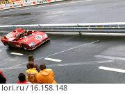 Andrea de Adamich-Nino Vaccarella's Alfa Romeo T33-TT-3 Autodelta S.P.A. Finished 4th, Le Mans, France, 11 June 1972. Стоковое фото, фотограф GP Library \ UIG / age Fotostock / Фотобанк Лори