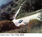 Luciano Verrocchio-Massimo de Antoni's AMS 273 Ford, retired from theTarga Florio, Sicily, 13 May 1973. Стоковое фото, фотограф GP Library \ UIG / age Fotostock / Фотобанк Лори