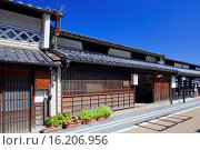 Купить «Japan, Chugoku Region, Okayama Prefecture, Tsuyama, Traditional house.», фото № 16206956, снято 19 февраля 2019 г. (c) age Fotostock / Фотобанк Лори