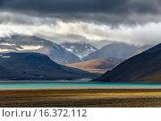 Купить «Горы на Северном острове архипелага Новая Земля», фото № 16372112, снято 14 августа 2013 г. (c) Сергей Гусев / Фотобанк Лори