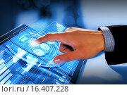 Using modern technologies. Стоковое фото, фотограф Sergey Nivens / Фотобанк Лори