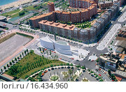 Купить «Overview on Abraham Centre in the Olimpic Village, Barcelona. Spain», фото № 16434960, снято 26 мая 2018 г. (c) easy Fotostock / Фотобанк Лори