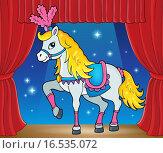 Купить «Circus horse theme image 2», иллюстрация № 16535072 (c) PantherMedia / Фотобанк Лори