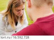 Купить «Couple having a disagreement», фото № 16592728, снято 19 июня 2019 г. (c) easy Fotostock / Фотобанк Лори